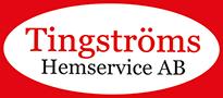 Tingströms Hemservice i Karlshamn Logo